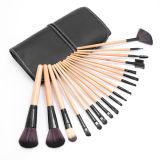 el kit del conjunto de cepillo del maquillaje 18PCS + la mujer cosméticos suaves profesionales superiores de la caja del filtro de la bolsa componen las herramientas Pincel Maquiagem