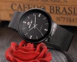 Do negócio simples do seletor de Belbi aço inoxidável Ultra-Thin para o relógio unisex