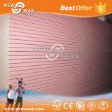 placa de gipsita da cor cor-de-rosa de 12mm/painel à prova de fogo do Plasterboard/Drywall