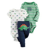 El bebé arrastra la impresión del traje tee shirt Bebé Romper