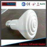 Bulbo de cerámica negro de la calefacción de Heatfounder