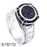 상한 디자인 925 순은 반지 형식 보석