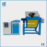 Fornalha de indução de derretimento de cobre de alumínio de aço do ferro para o Smelting do metal