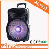 마이크를 가진 다채로운 LED 오디오 스피커