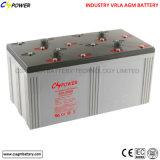 Type profond batterie solaire de Mf Sealead de cycle de Cspower de 2V 2000ah