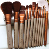 Brosse de maquillage Nake D 3 12PCS / set Ensemble de broussailles professionnel Makeover Brush