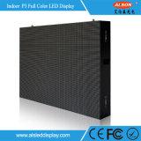 Muestra fija de interior a todo color de la visualización de LED de P3 SMD