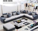居間のためのカーキ色カラー現代ソファー