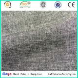 Mini Matt tissu décoratif du polyester 150d avec le filé de cation pour le vêtement extérieur