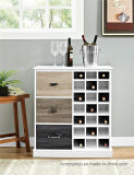Personalizzare la cremagliera di visualizzazione di legno del Governo del vino dell'annata con il cassetto