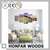Bâti en bois de photo d'art d'impression pour la décoration de mur