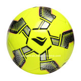 Bright Yellow Shiny PVC Sponge Football Taille 5 4