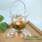 中国のハンドメイドの功妙な茶、花の茶、花盛りの茶、カスタマイズされたギフトのパッケージ(BT003)が付いている咲く茶こし器