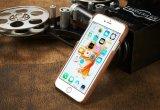 Caja retra del teléfono del cuero del cedazo del estilo para iPhone7 más