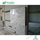 Panneau en aluminium enduit de marbre de nid d'abeilles pour le mur intérieur