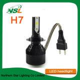 夜歩行者H7 LEDのヘッドライトH1 H3 H4 H11 880 9005人の9007人の9012人のクリー族LEDのヘッドライト