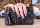 Reizende Mädchen-anhaftender Nagel-Kunst-Aufkleber für DIY
