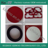 Gaxeta feita sob encomenda da borracha de silicone do produto comestível para o bujão do frasco de vidro