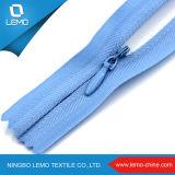 Zipper invisível da forma
