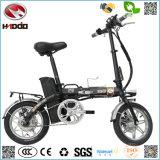 소형 250W 싼 Foldable 도시 전기 자전거 접히는 도로 자전거