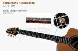 Guitarra acústica do concerto superior dobro Handmade do artista