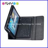 para la caja sin hilos del cuero del teclado de Bluetooth del aire del iPad