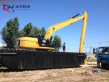 Caterpillr Cat326D2l Excavatrice amphibie Longue portée de portée pour 17,5 m