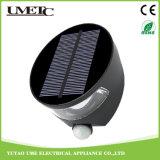 Luz accionada solar del jardín del sensor de movimiento de la pared del LED