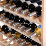 Деревянные полки индикации хранения яруса бутылки 8 шкафа 120 вина