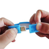シリコーンのリスト・ストラップの形のブレスレットUSB Memory 昇進のための棒