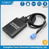シトロエンおよびPeugeotのための車SD USBエムピー・スリーのアダプター