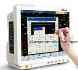 """15.1 """" schermi di tocco impermeabili dell'affissione a cristalli liquidi, volume del sangue arterioso, video paziente del gas ICU di Drager"""
