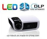 Neuer Minisupport 2D-3D des Luxcine C5d Heimkino DLP-LED projektor-1080P 500 Lumen beweglich