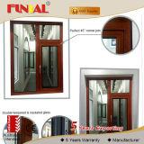 Конструкция двери стеклянного окна Китая двойная