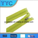 Zipper de nylon por atacado da extremidade 3# aberta com slider do Auto-Fechamento