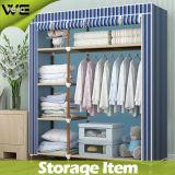 بناء أثاث لازم خزانة ثوب مقصورة خزانة ثوب رخيصة مزدوجة بسيطة