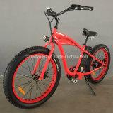"""Bicicleta eléctrica del nuevo """" neumático gordo de gran alcance 26 con 48V 500W"""