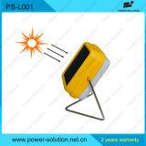 Luz de energía solar portable de la lectura para la escuela