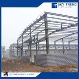Construcción de acero de la prefabricación de los edificios del taller industrial de las estructuras de acero