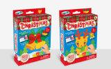 Farben-Paste der Kind-DIY Spielzeug-Klebriges Mosaik-Weihnachten 2 Spaß-Abbildungen
