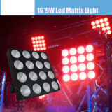 4 * 4 (16PCS * 9W 3 EN 1) LED de la colada Matrix Light
