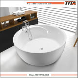 大きいサイズの円形の浴槽Tcb046D