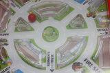 Het plastic Spel van het Labyrint met Flipperspel van het Spel van het Labyrint van het Spel van 3 Sleutels het Vastgestelde voor het Speelgoed van Jonge geitjes