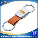Couro personalizado Keychain da liga do zinco para a promoção (ELE-K095)
