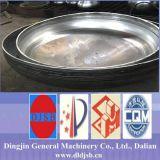 Незаконченные холодные закручивая алюминиевые эллиптические головки тарелки