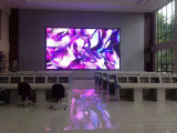 Pared video a todo color de interior de P4 LED con de acceso frontal de Magnets