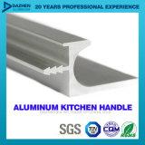 Strangpresßling-Profil des Aluminium-6063 für Küche-Schrank-Griff mit unterschiedlicher Farbe
