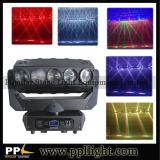 15PCS 12W RGBW 4in1のクリー族LEDの移動ヘッドビームライト