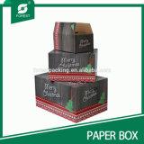 Vente en gros de empaquetage estampée de cadre de cadeau de Noël