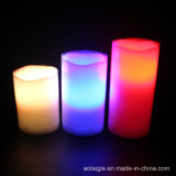 شمع شمعة يحمّل ألوان مع [لد]